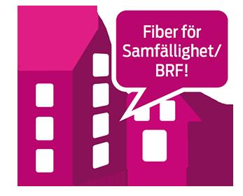 Fiber för Samfällighet/BRF!