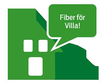 Fiber för Villa!